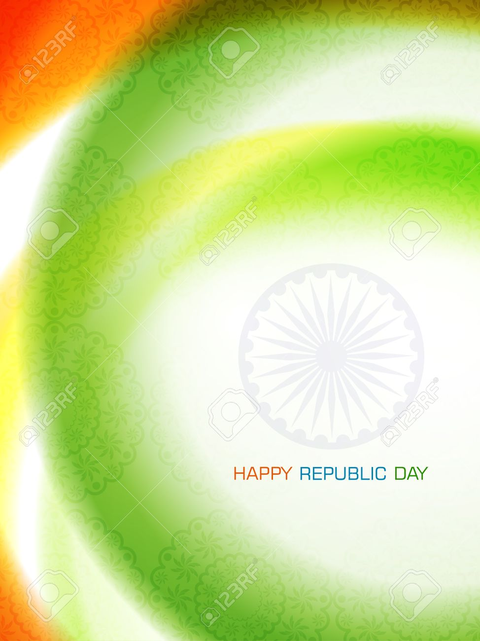 Beautiful background design for Indian republic day Stock Vector - 17213922