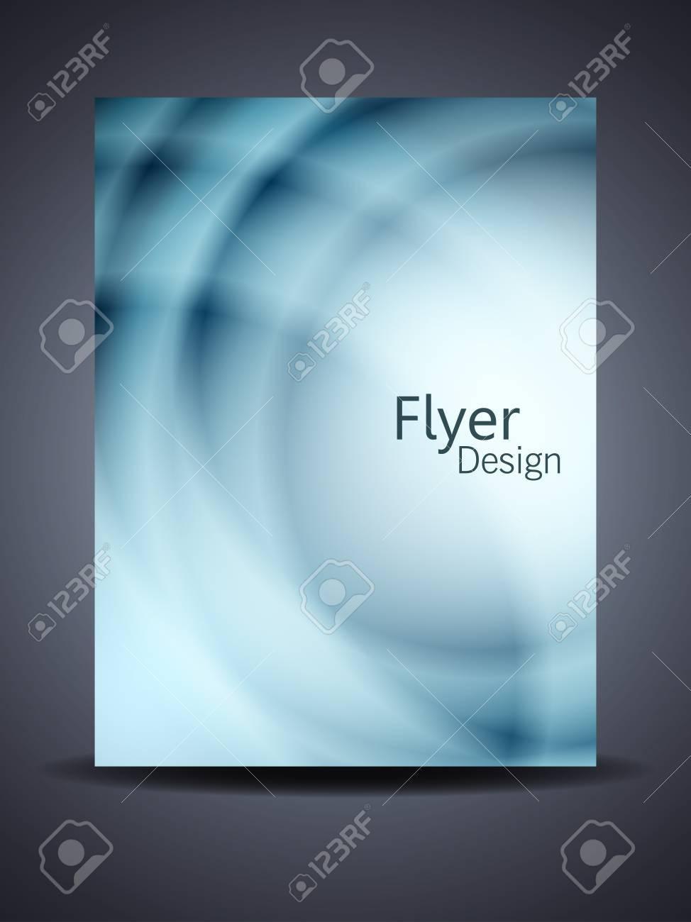 Presentation of creative flyer or cover design. Stock Vector - 18303240