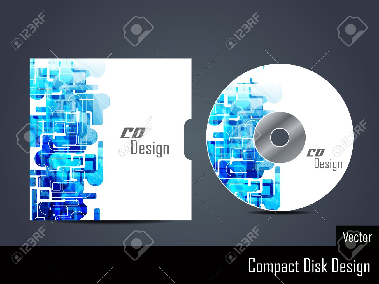 CD Cover Design Royalty Free Cliparts, Vectors, And Stock ...