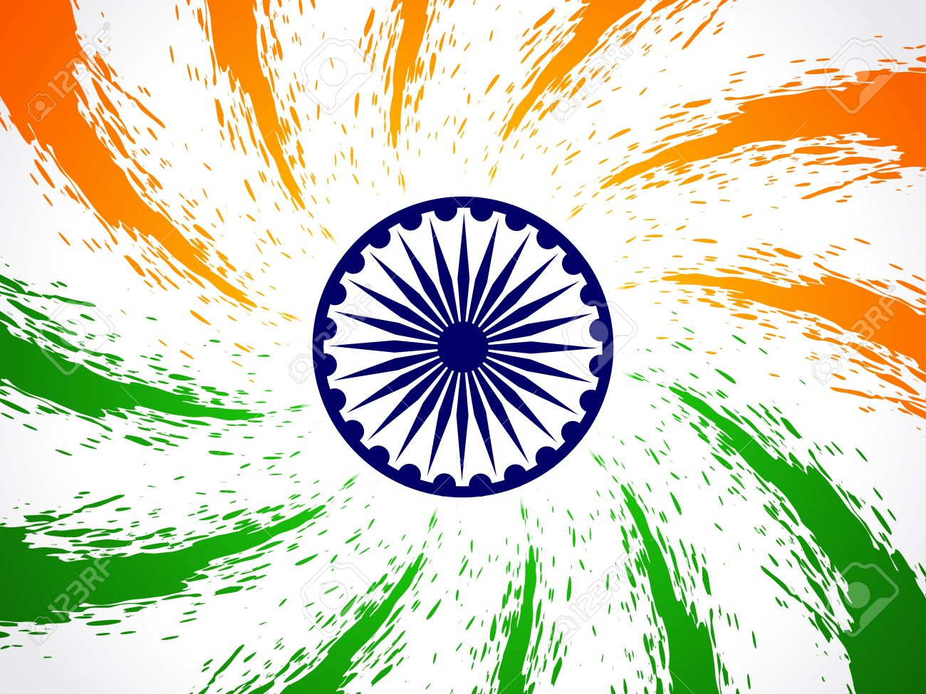 Beautiful Indian flag design