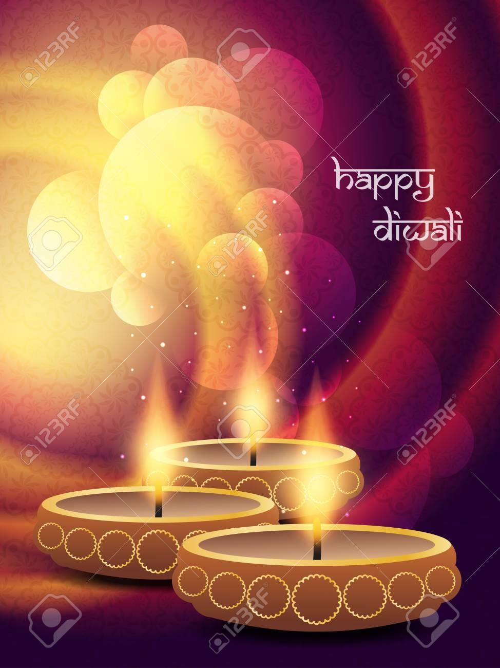 religious background design for Diwali Stock Vector - 21810973