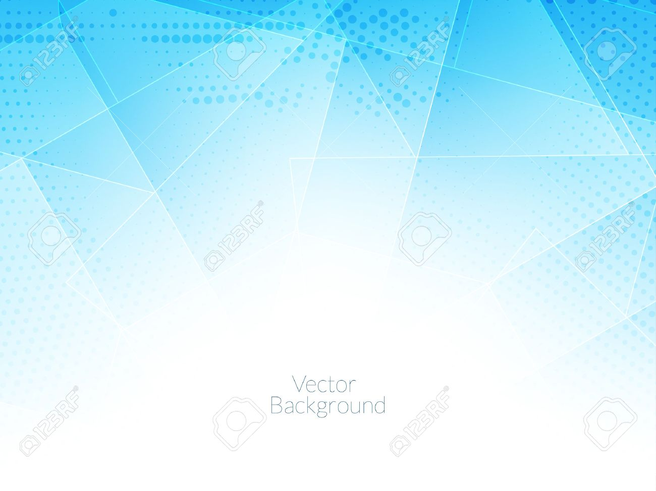elegant blue color background with polygonal shapes. Stock Vector - 45155765