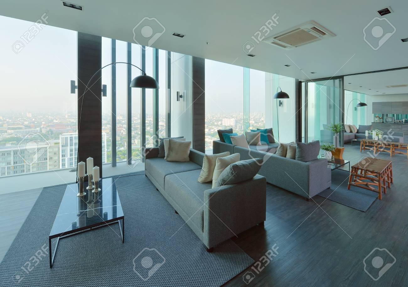 Interieur Et Decoration De Salon Moderne De Luxe Design D Interieur