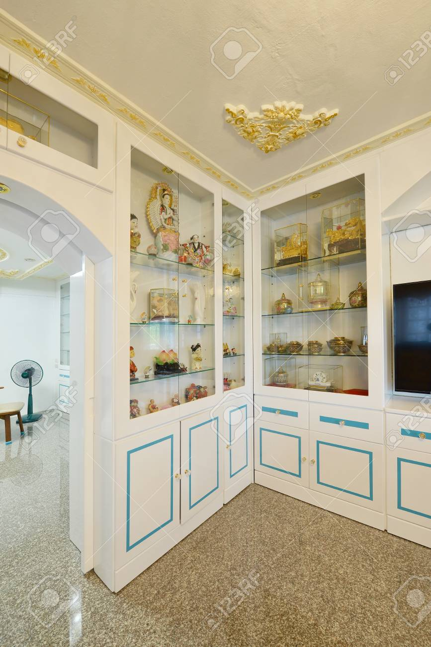 Elegant Oriental Classic Vintage Chinese Living Room, Interior ...