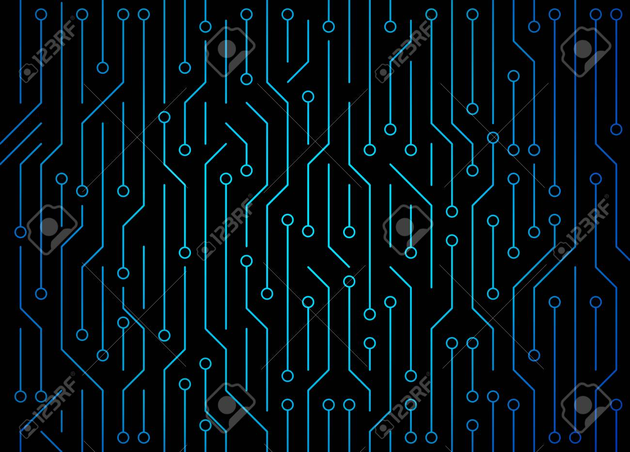 Circuit board. High-tech technology background texture. Pattern abstract illustration. - 101683797