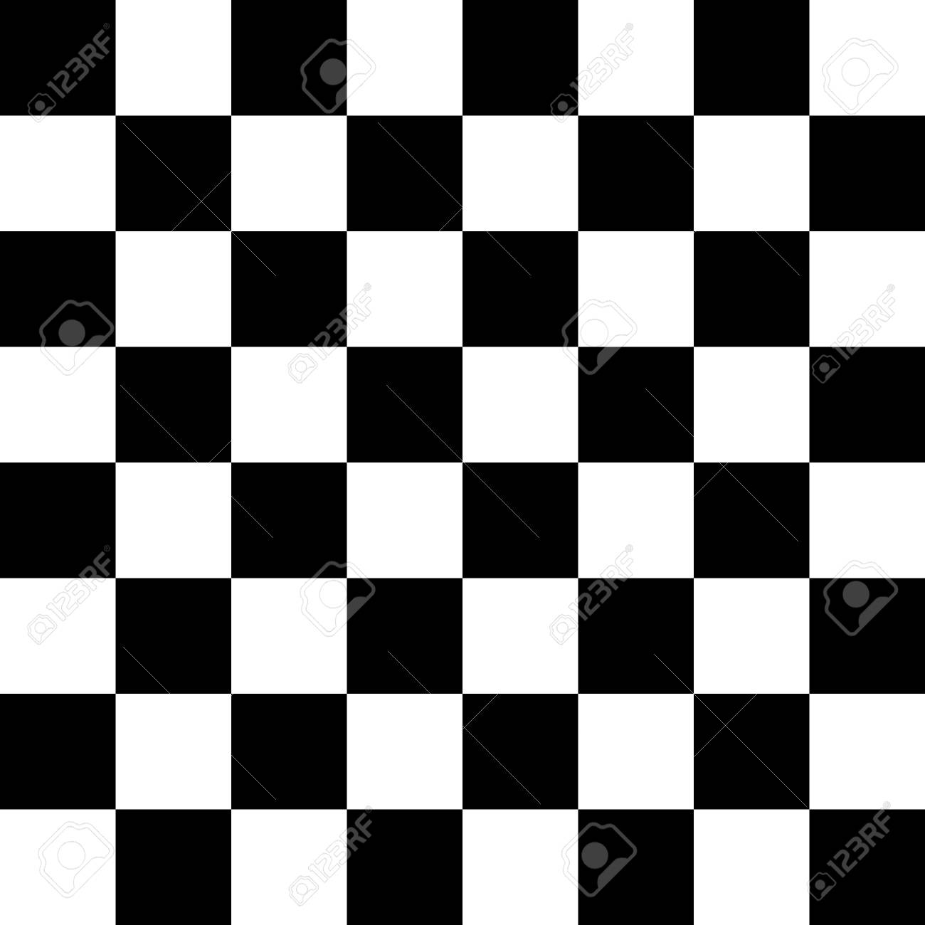 Checkered Seamless Pattern Abstract Wallpaper Black And White