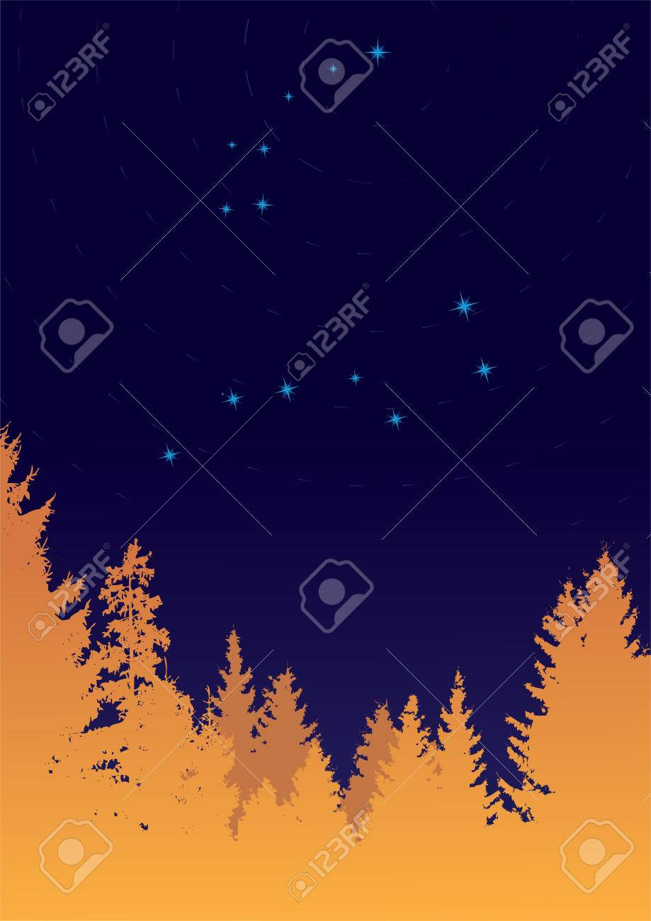 Constellations Ursa Major And Minor constellations Ursa Minor