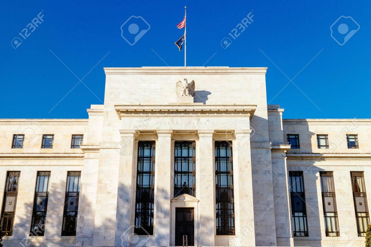 連邦準備制度の建物、ワシントン...