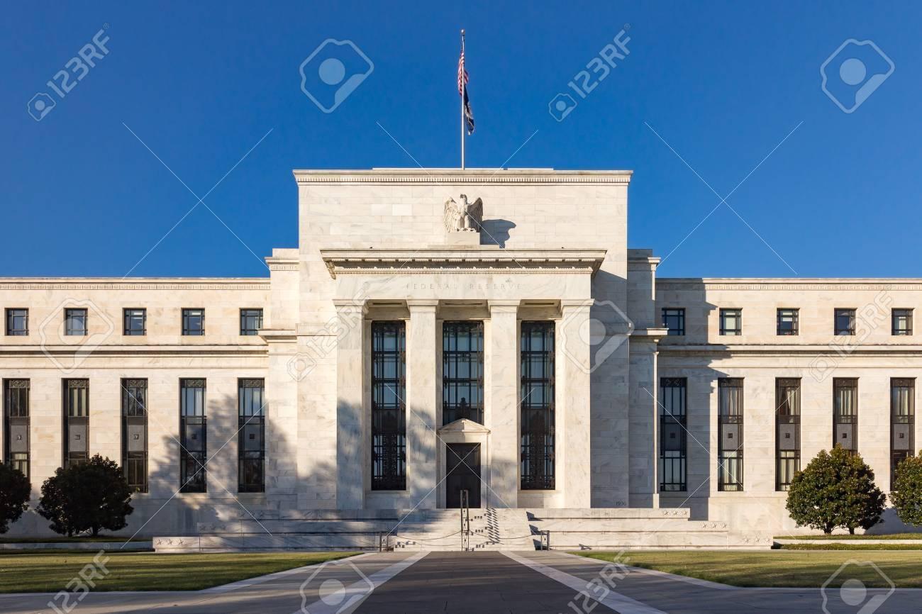 連邦準備制度理事会ビル、ワシントン DC、アメリカ合衆国。 の写真素材 ...