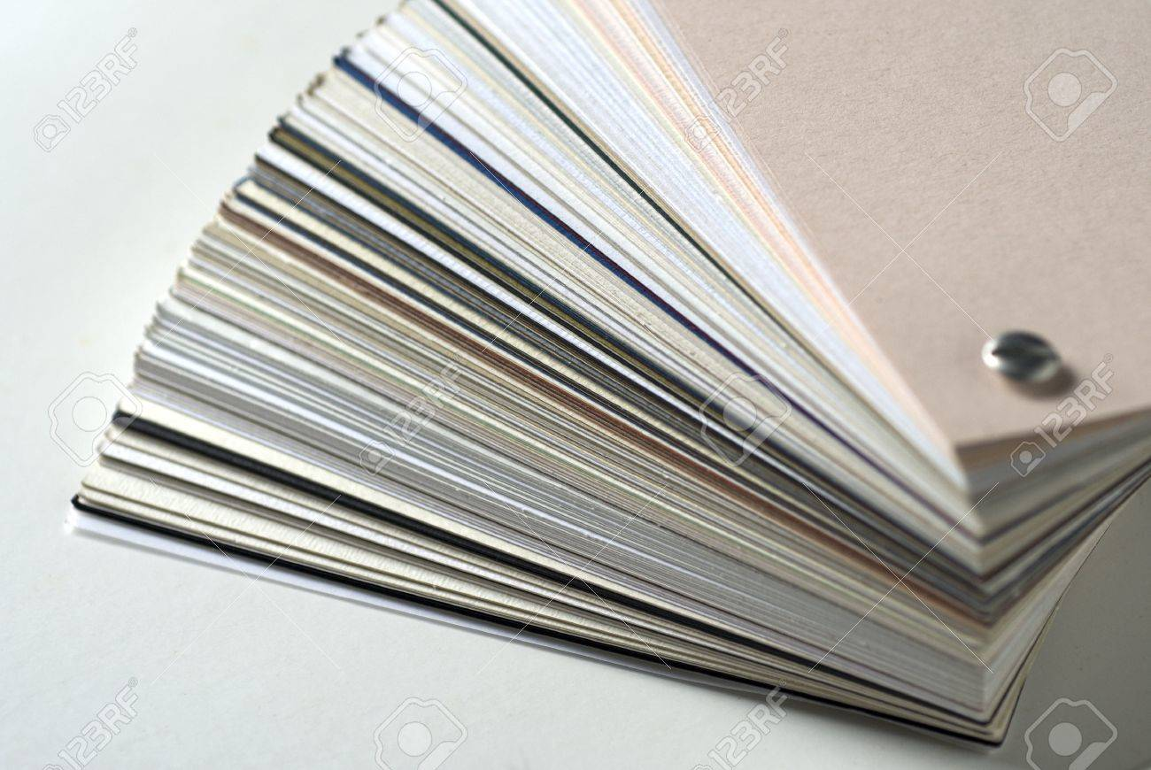 Sample Paper For The Printing Stock Photo, Picture And Royalty Free ...