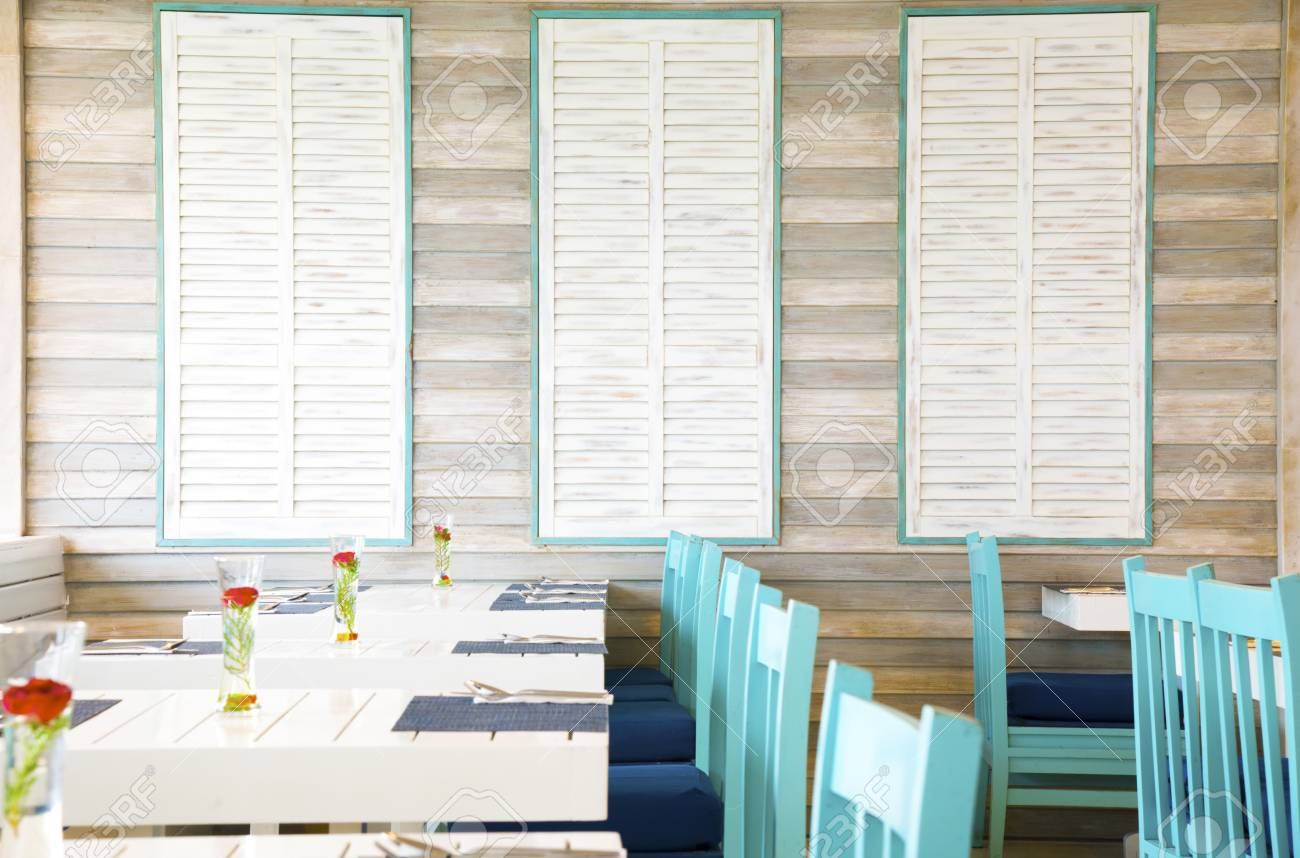 Very Cute Pastel Color Restaurant Stock Photo Picture And Royalty Free Image Image 45510816