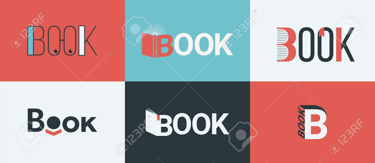 A set of book, bookstore design concepts. - 170345383