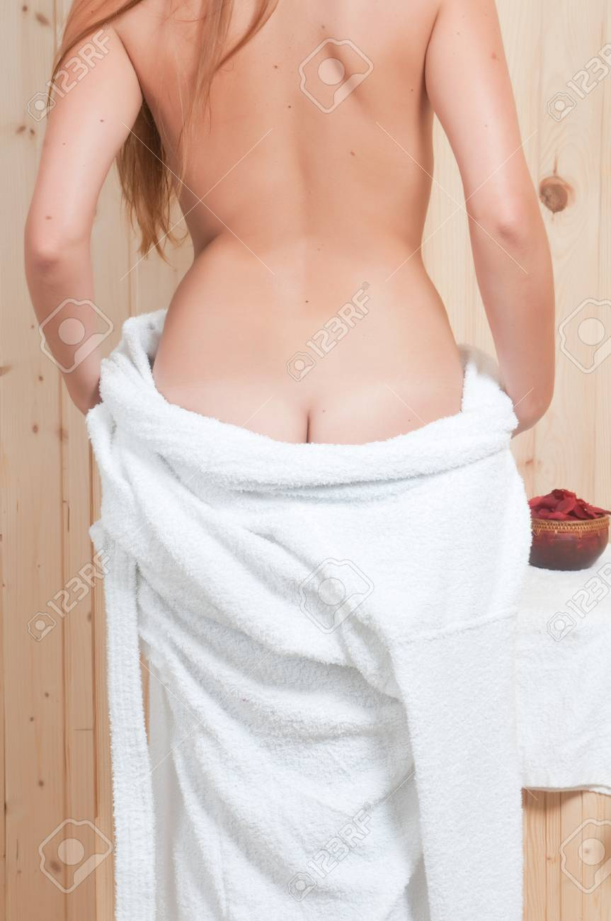 woman having body care in an spa or sauna relaxing Stock Photo - 21884962