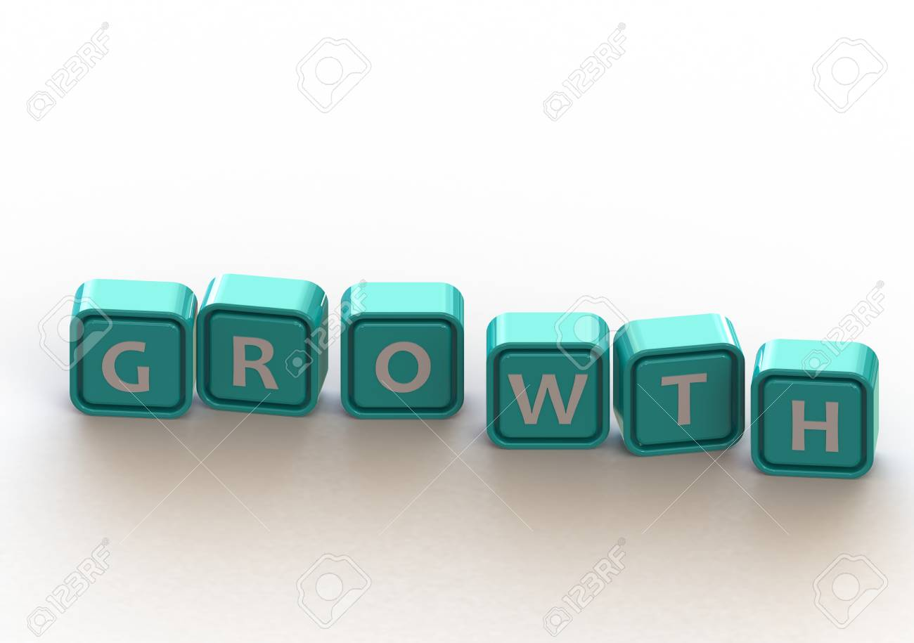Cubes: growth Stock Photo - 11678849