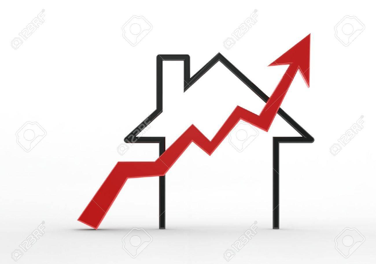 Growing home sale Stock Photo - 13894134