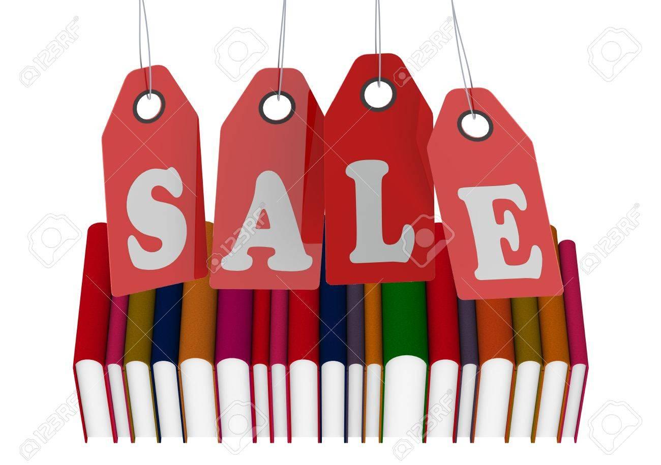 Book Sale Stock Photo - 14039856
