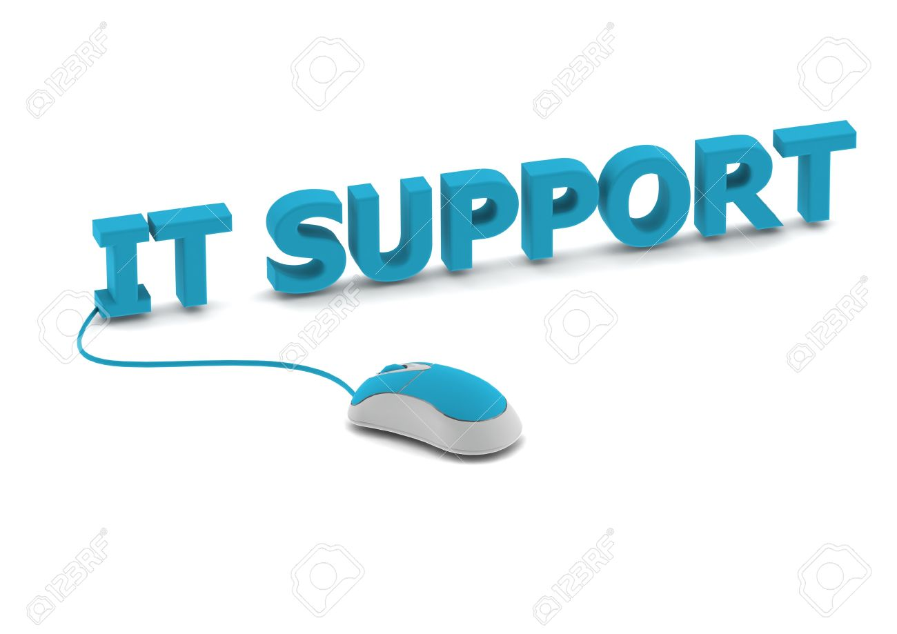 IT support and computer mouse Stock Photo - 14462539