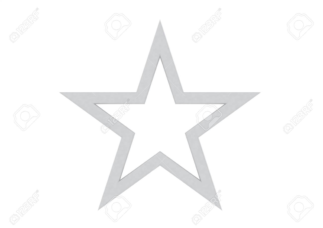 Silver Star Stock Photo - 14618535