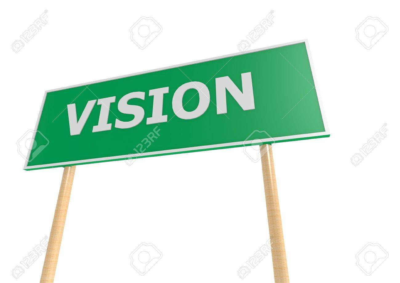 Vision Street Sign Stock Photo - 14822152