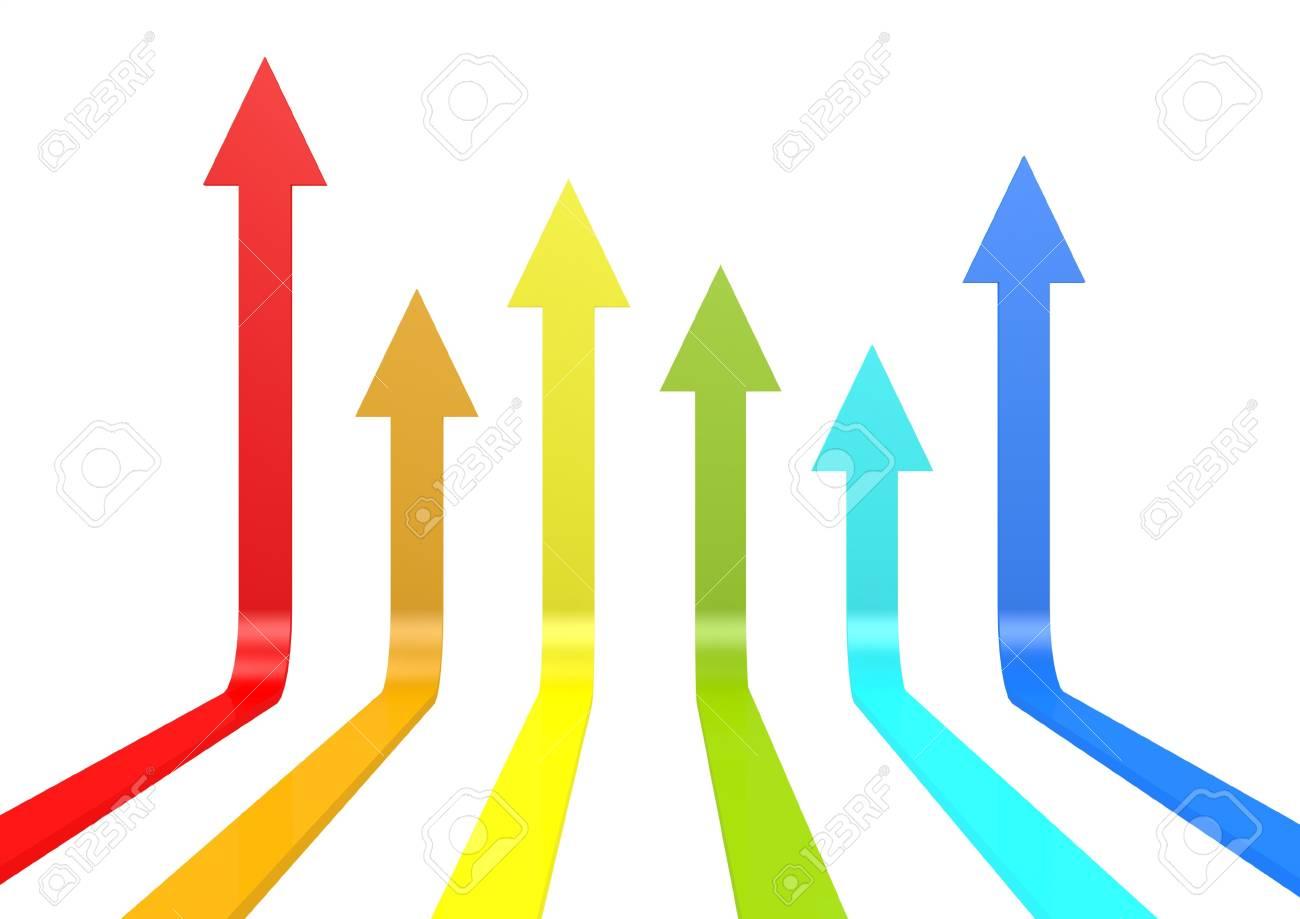 Color arrows Stock Photo - 15232992