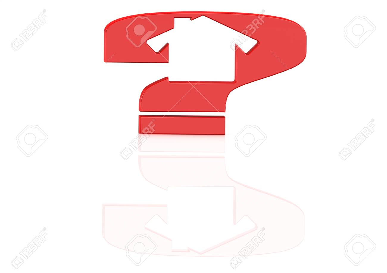 House and Question concept Stock Photo - 16001986