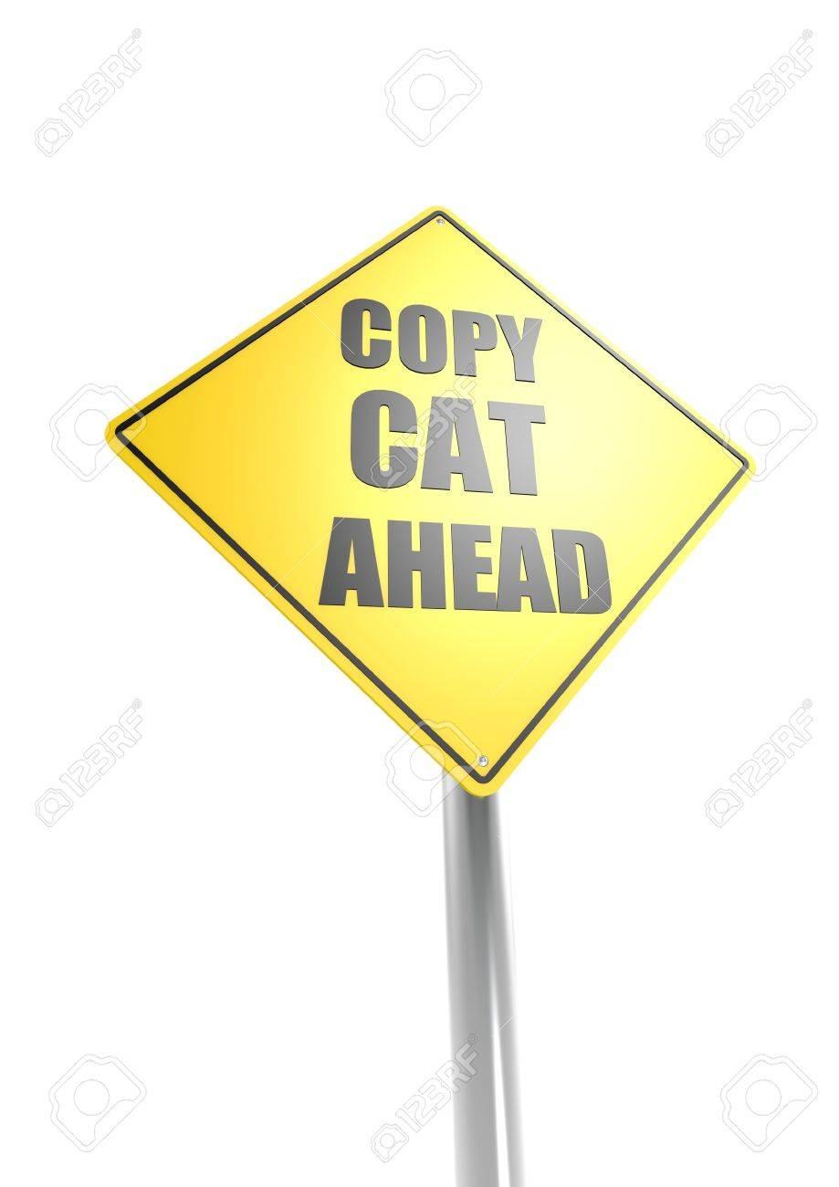 Copy cat ahead Stock Photo - 16755400