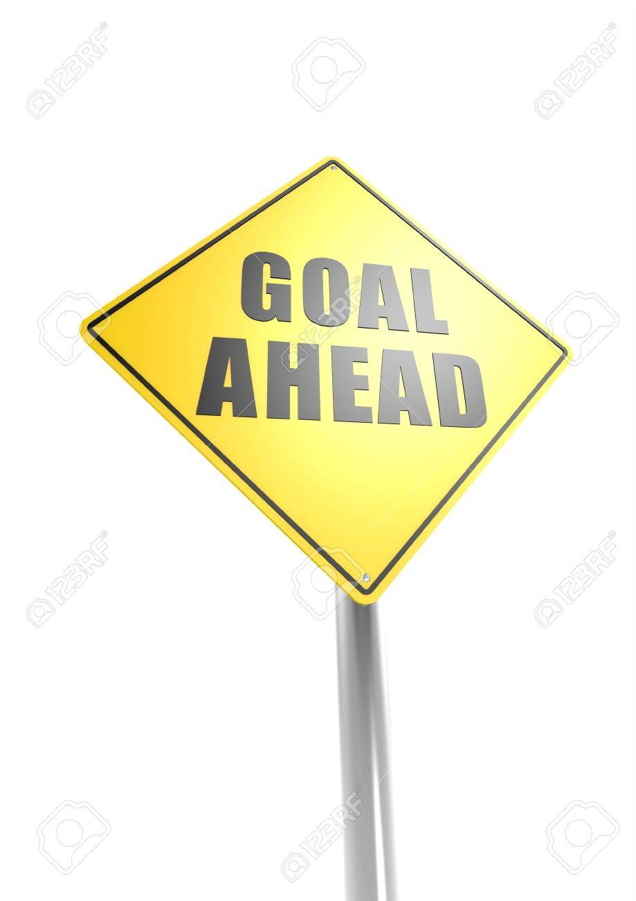 Goal ahead Stock Photo - 16755392