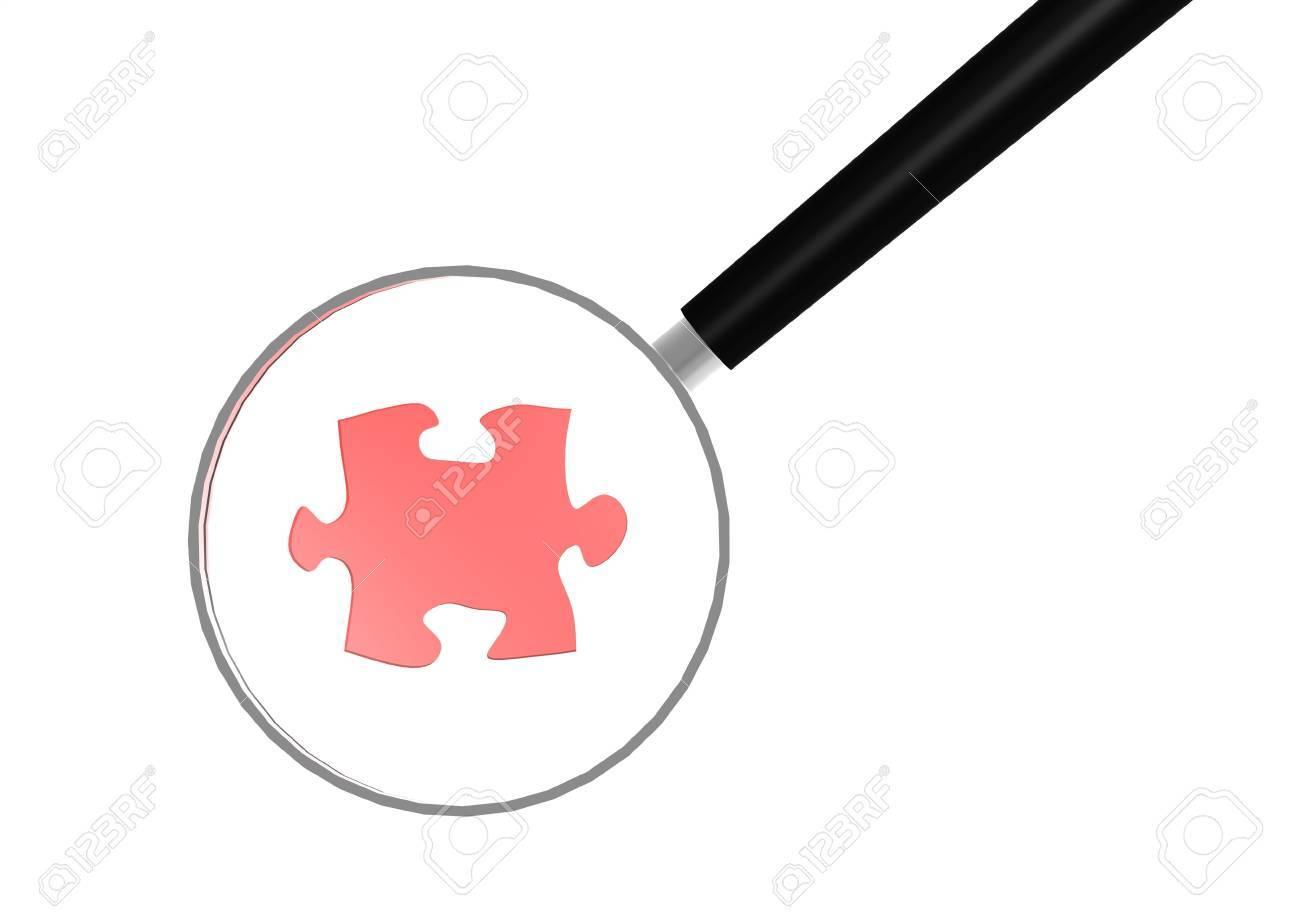 Last puzzle found Stock Photo - 17372770