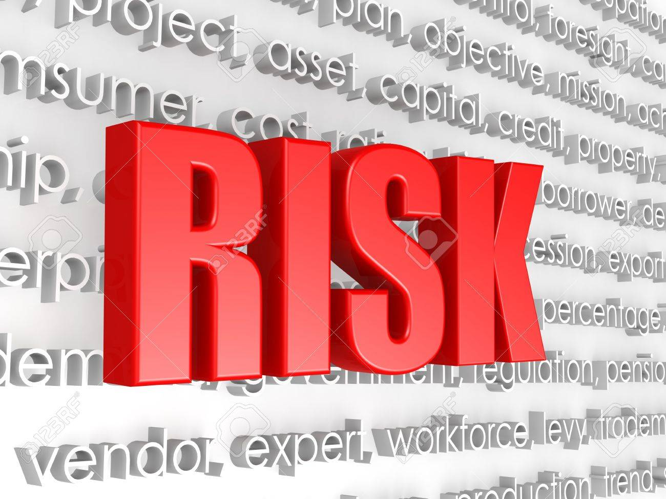 Risk word Stock Photo - 22129503