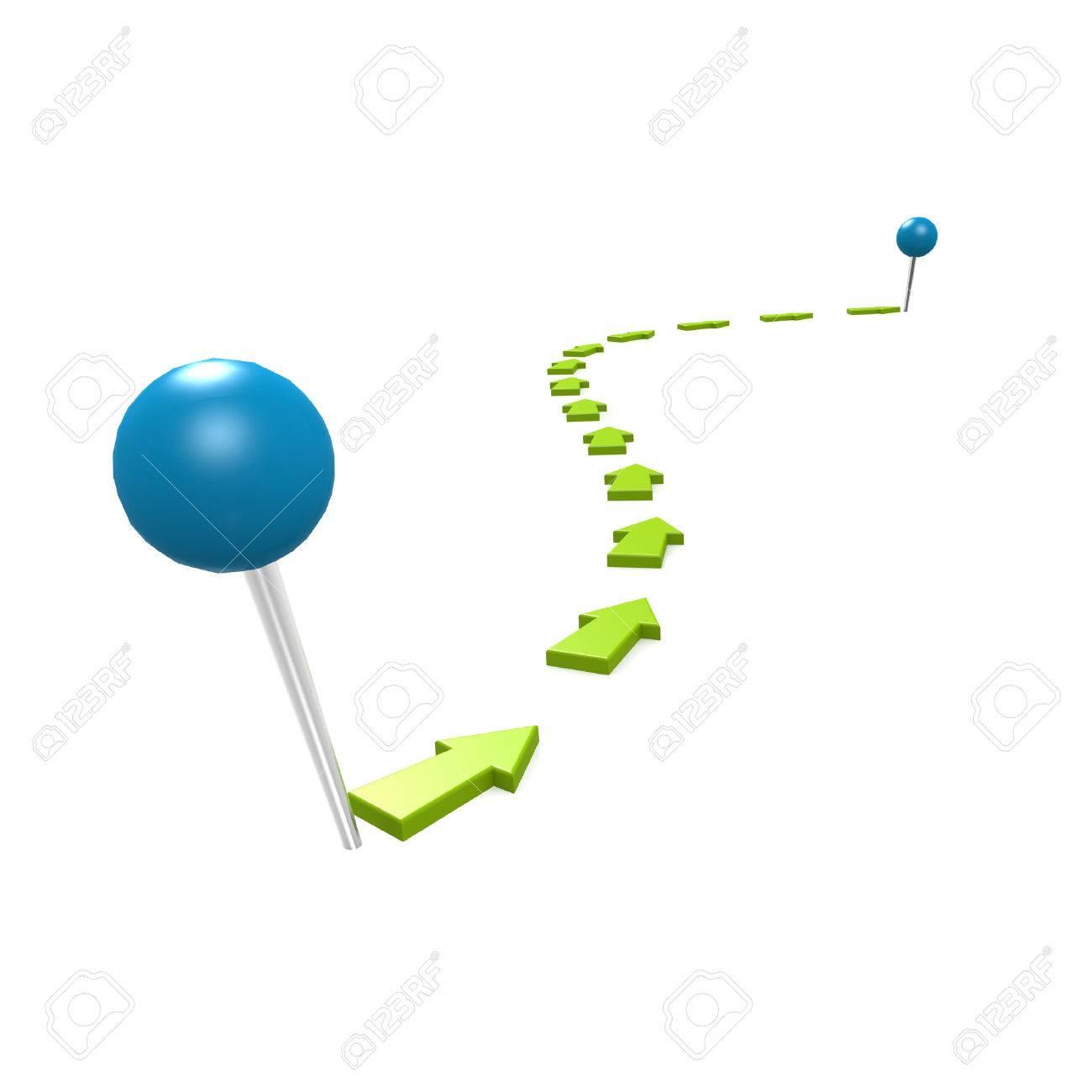 Round pin green path - 30991561