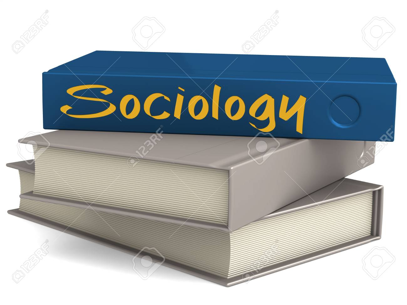 Hard Cover Books With Sociology Word 3d Rendering Stock Photo Picture And Royalty Free Image Image 92037441