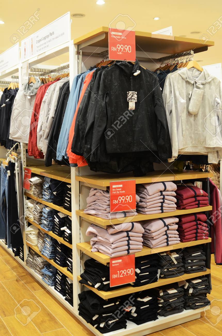 Genting Highlands Malaysia Dec 03 2018 Interior Shot Of Uniqlo Stock Photo Picture And Royalty Free Image Image 117656700