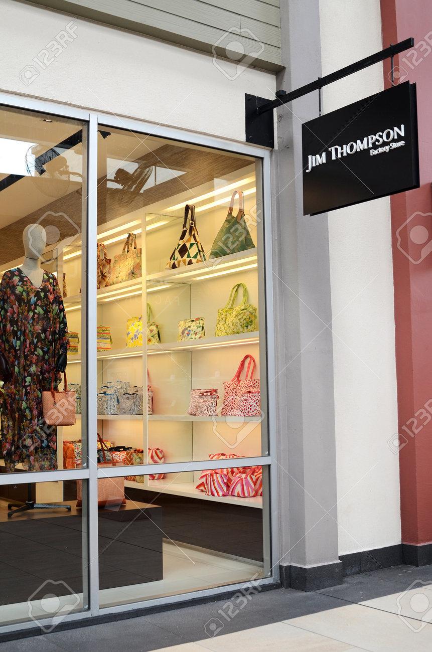 GENTING HIGHLANDS, MALAYSIA- DEC 03, 2018 : Jim Thompson store
