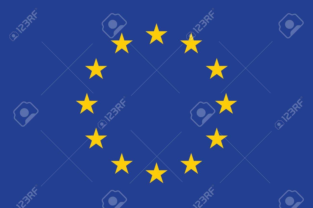 Flag of the European Union  EU Stock Vector - 15513325