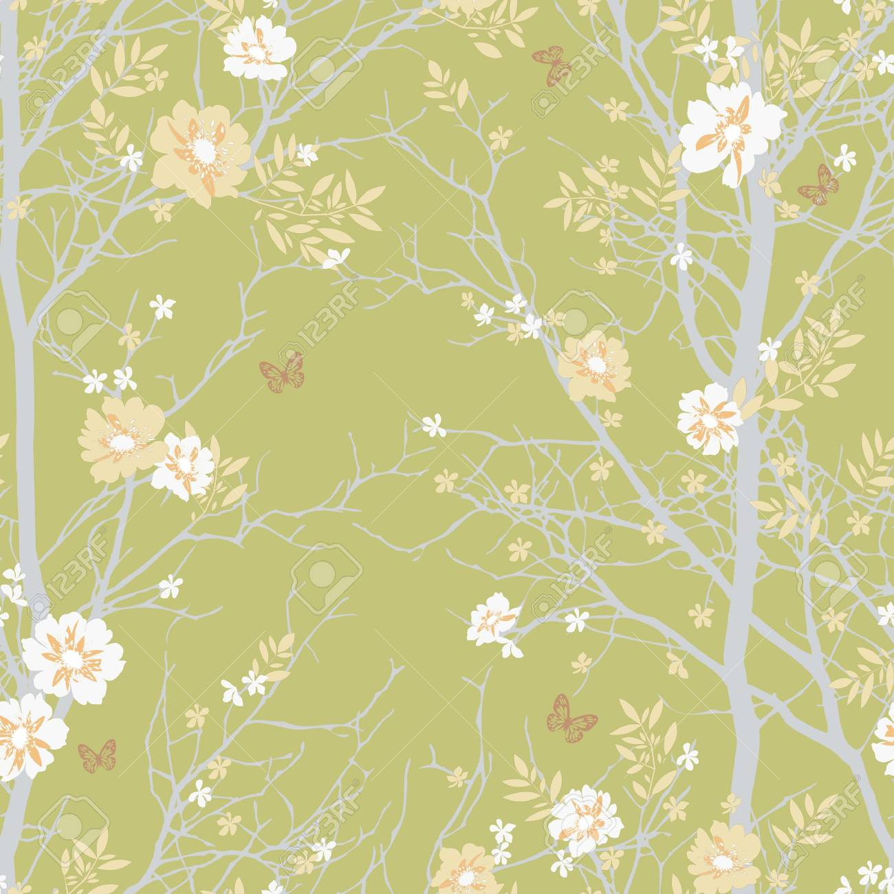 Classical style pattern seamless background - For easy making seamless pattern use it for filling any contours Stock Photo - 20880138