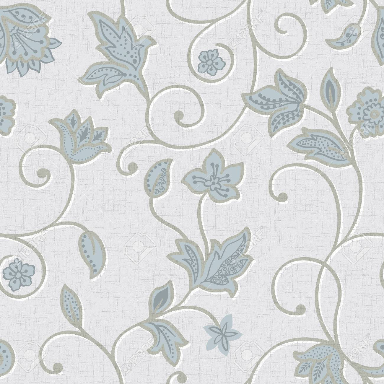 Classical style pattern seamless background - For easy making seamless pattern use it for filling any contours Stock Photo - 23095740