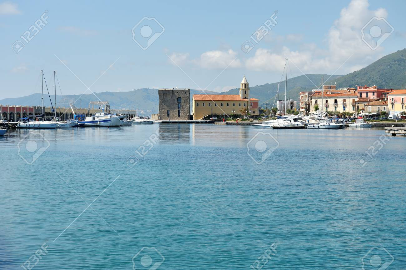 Port of Acciaroli, National Park of Cilento. Salerno. Southern Italy - 105482843