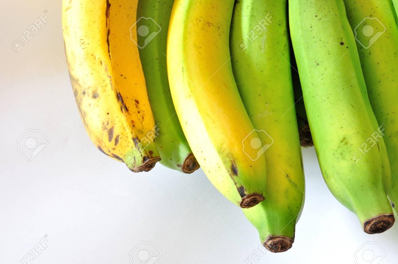 banana on white background Stock Photo - 11806277