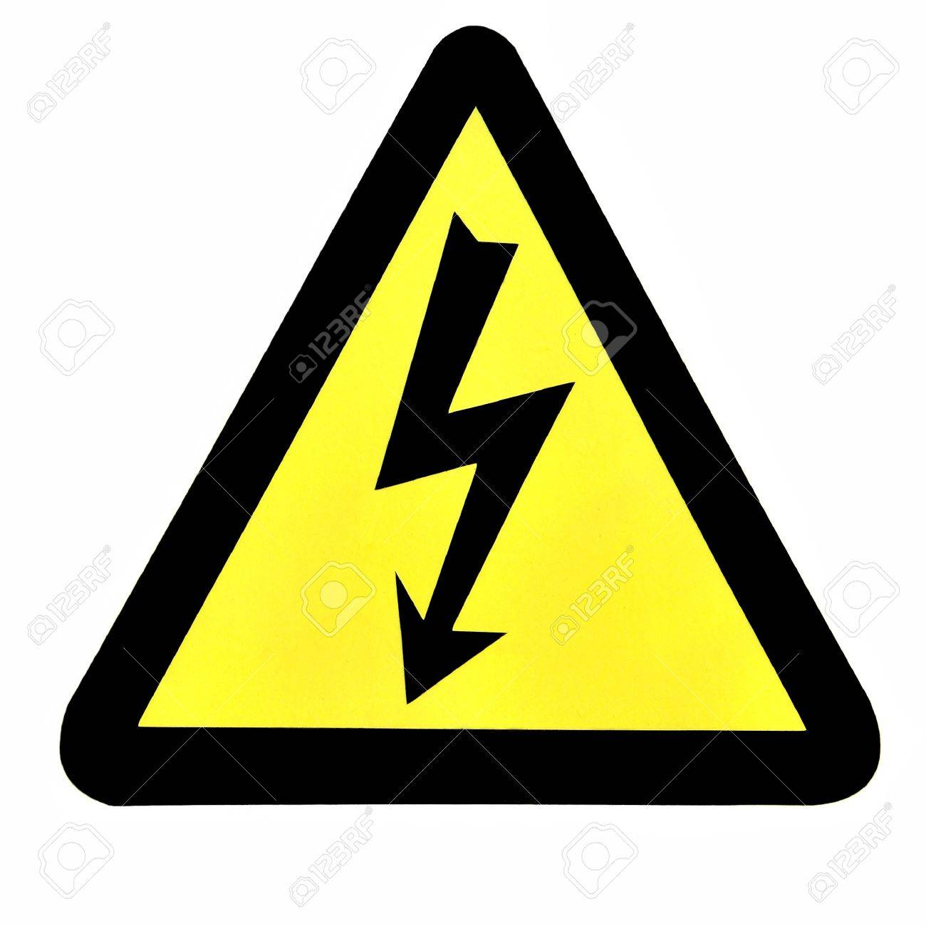 High Voltage Sign Stock Photo - 14102822