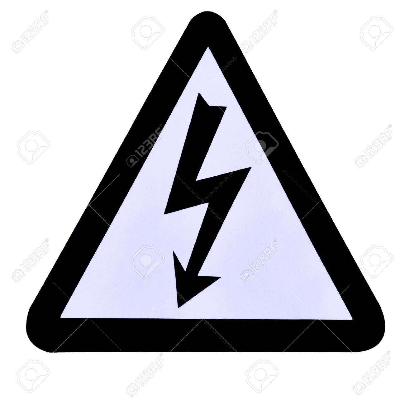 High Voltage Sign Symbol Stock Photo Picture And Royalty Free