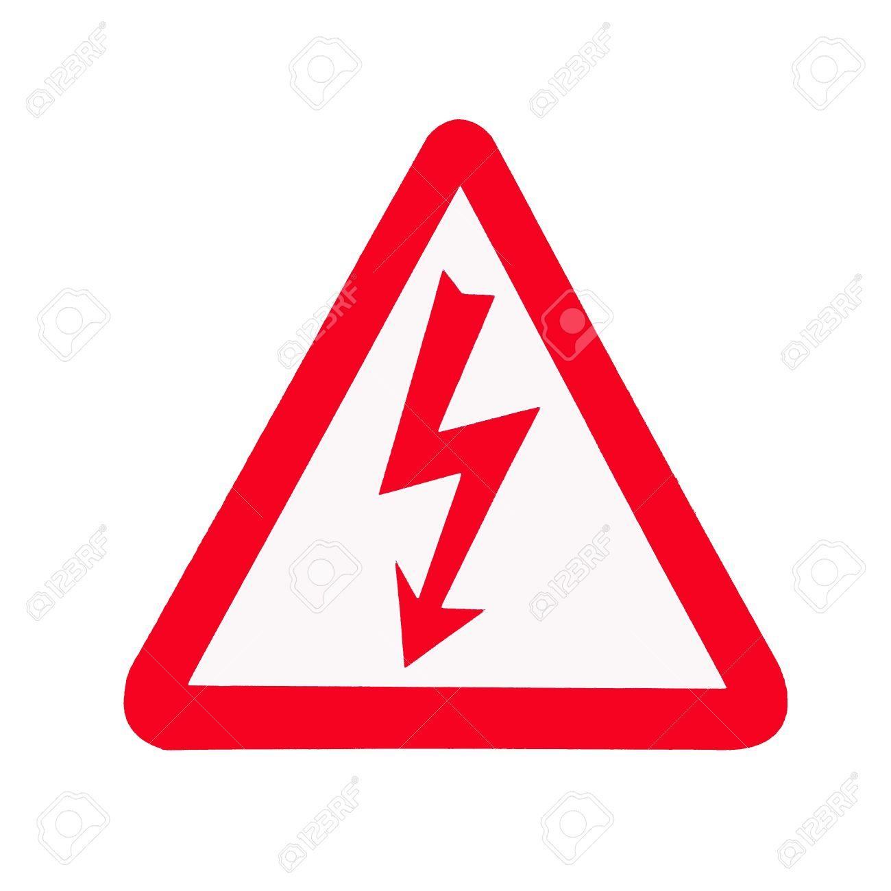 High Voltage Sign, Symbol Stock Photo - 15544409