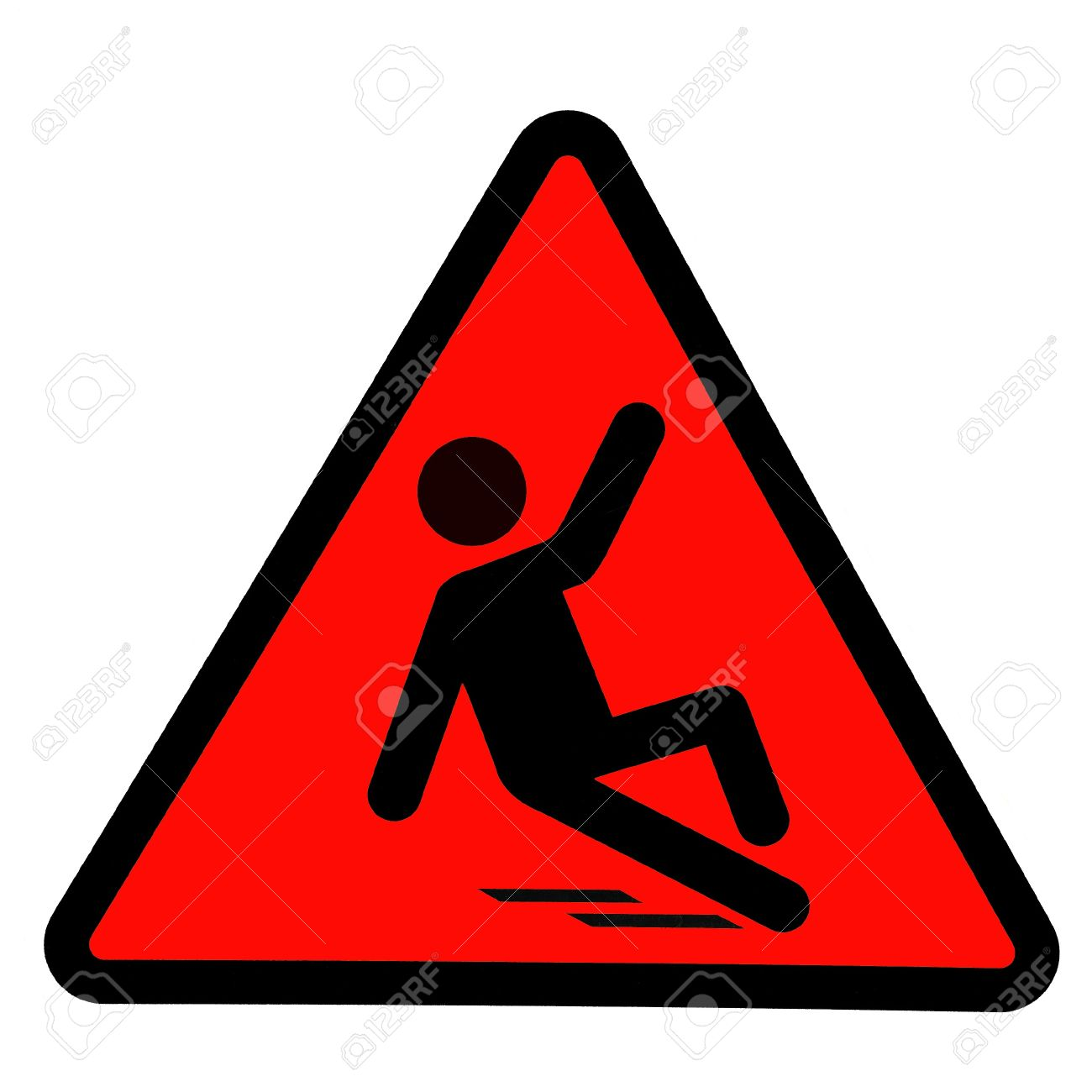 Beware Slippery Symbol Stock Photos & Pictures. Royalty Free ...