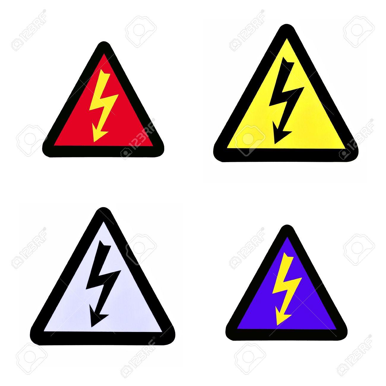 Set of high voltage sign high voltage symbol stock photo picture set of high voltage sign high voltage symbol stock photo 16358069 buycottarizona