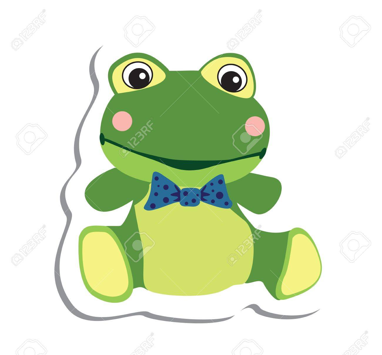 cute frog Stock Vector - 19619498