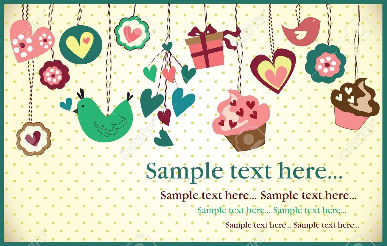 birthday party invitation card royalty cliparts vectors and vector birthday party invitation card