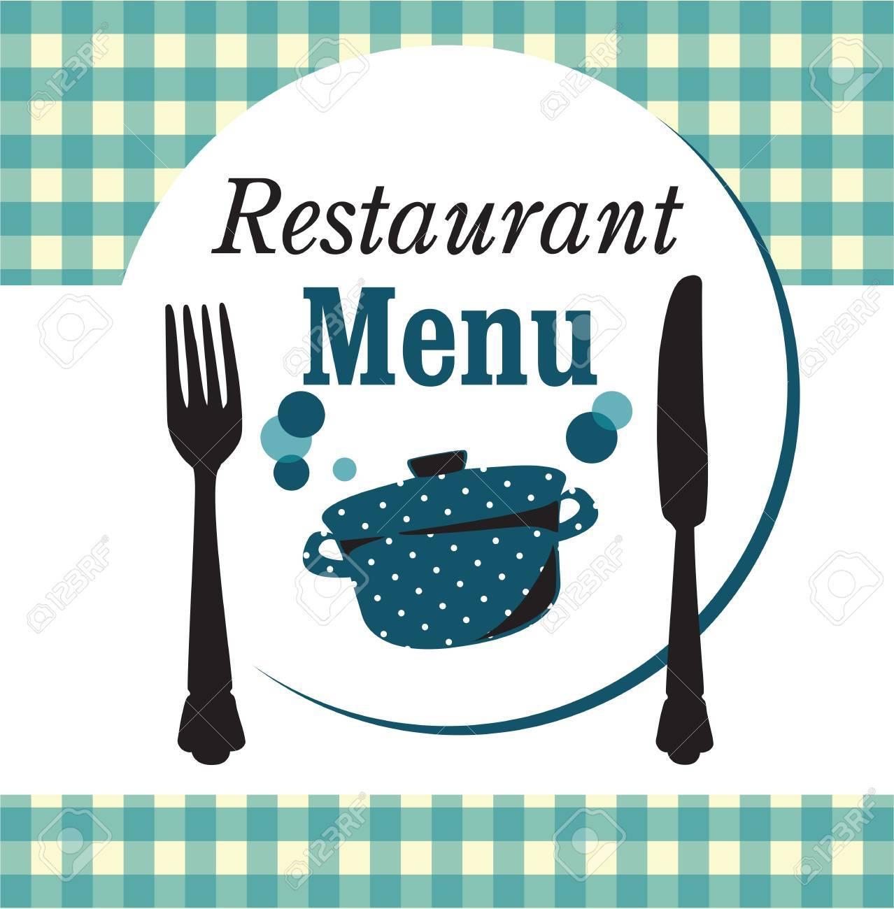 restaurant menu design Stock Vector - 20154641