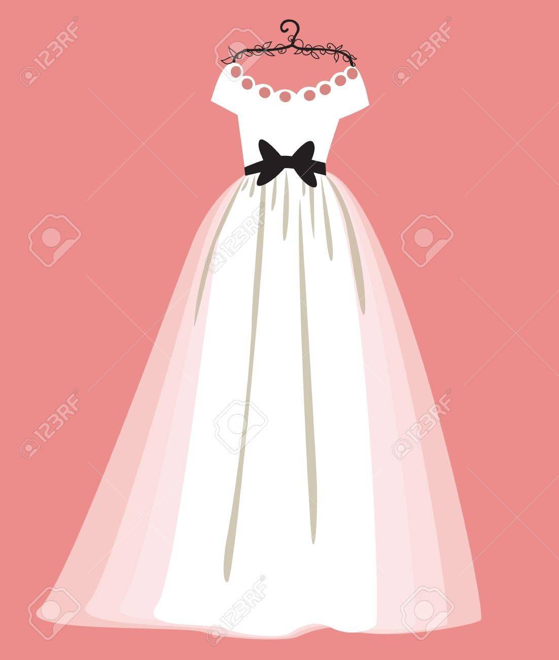 Increíble Bocetos Del Vestido De Boda Colección de Imágenes ...