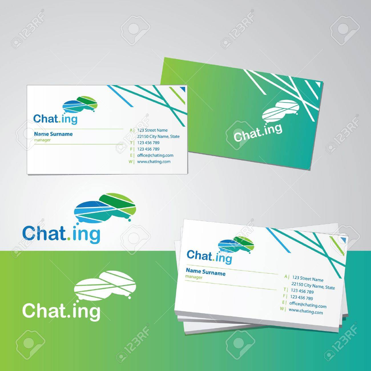 Business card design template royalty free cliparts vectors and business card design template stock vector 10399805 friedricerecipe Gallery