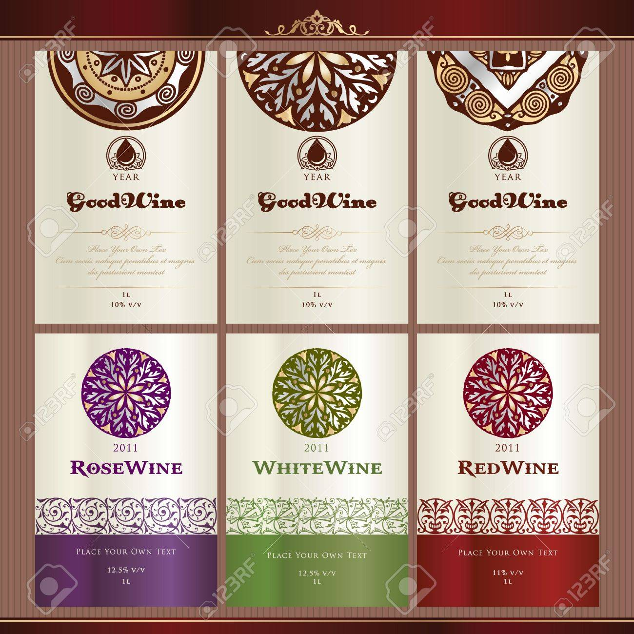 Free Wine Bottle Label Template rent payment receipt – Free Wine Label Template