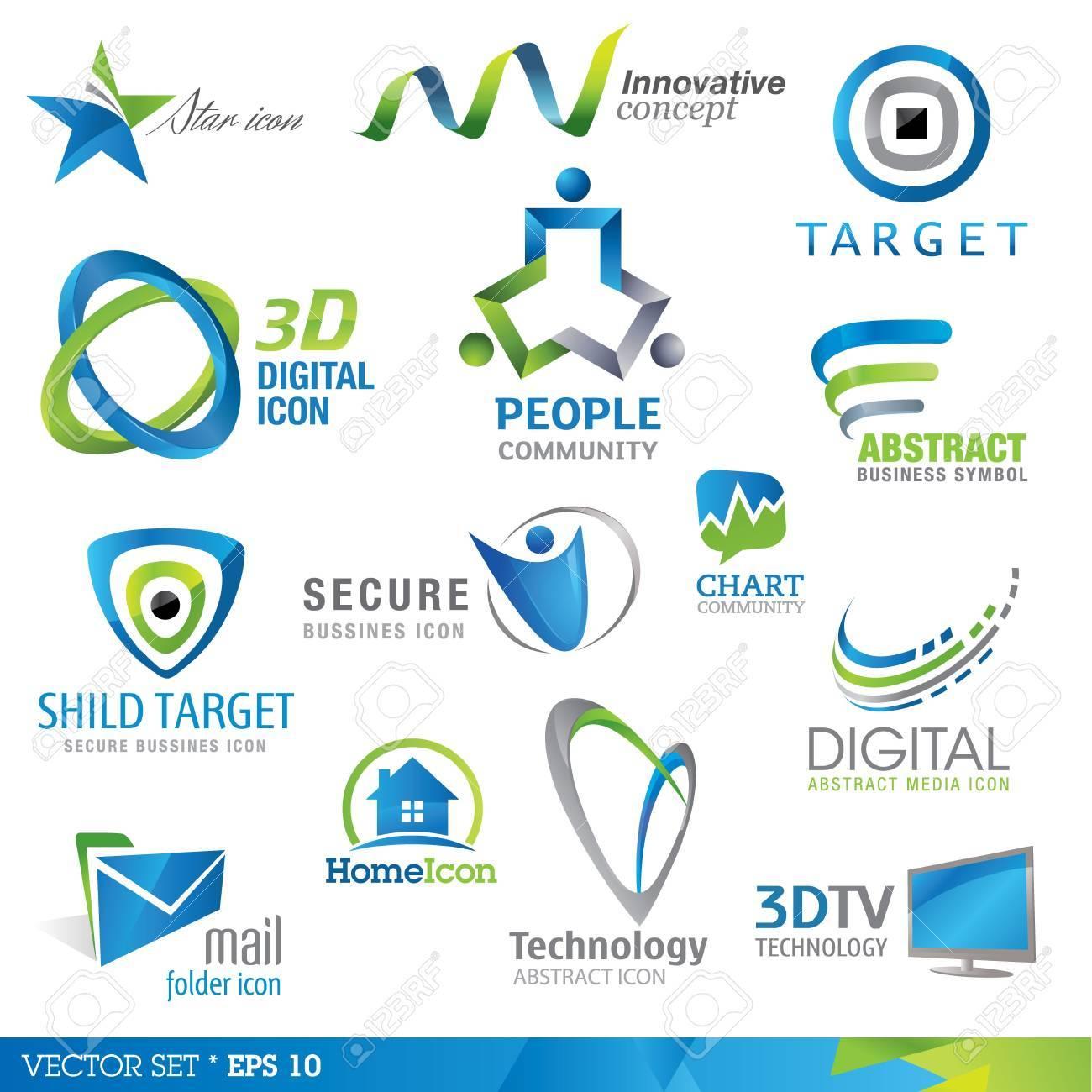 Icon design elements - 10564213
